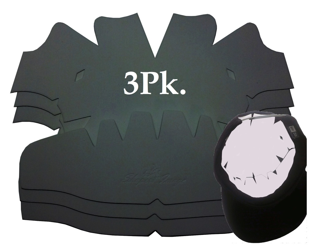 40d4b93166bc28 LARGE CAP DOME PANEL SHAPERS COMBO: SAVE! 3 Per Pack $19.95