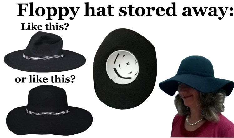 64ee50200d74dd TAKE IT WITH YOU TO KEEP THE FLOPPY OR BUCKET HAT FROM WRINKLING. ONLY 6.95  ea.